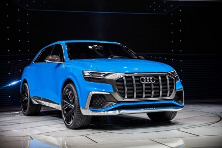 Audi Q8 preview: 'A vehicle born to impress'
