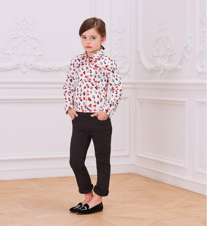 baby dior winter-2017-collection_for girls-imprime´ coeur House print