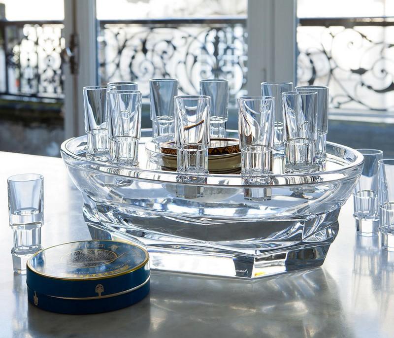 baccarat Harcourt Abysse caviar set-