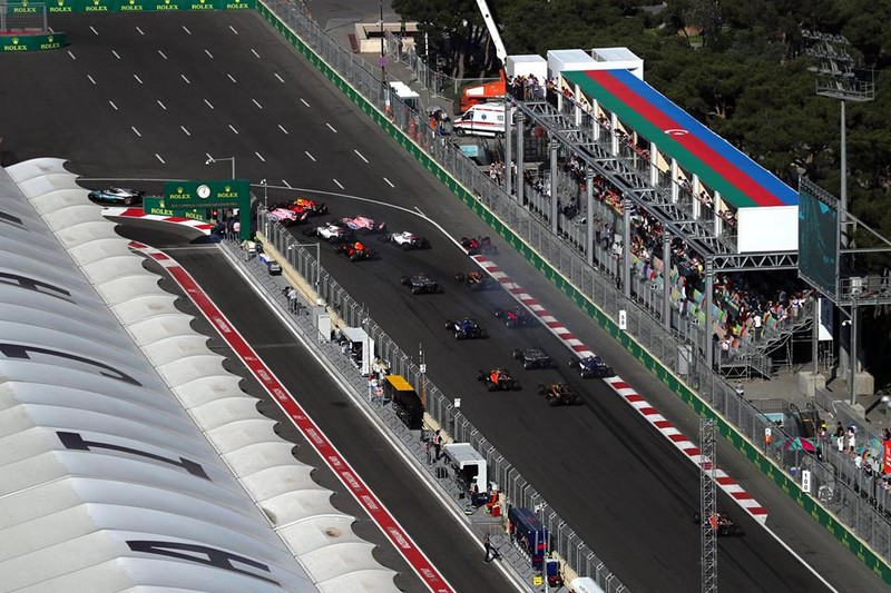 baku city formula 1 circuit 2017