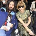 balenciaga paris fashion show - front row