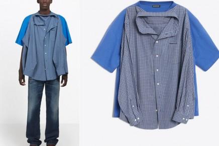 Holy shirt: Balenciaga is selling a 'T-shirt shirt' for $1,290