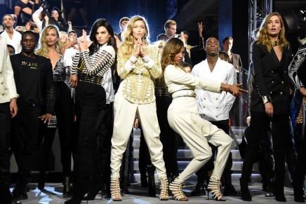 Balmain x H&M: the high-street's answer to super-glam partywear