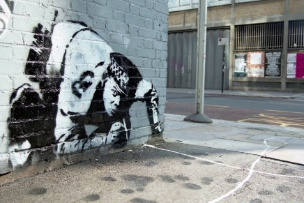 Not to be sniffed at: long-lost Banksy artwork is rediscovered