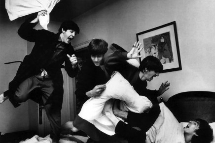 """""""I Feel Fine,"""" an exhibition of Harry Benson's Beatles photos at the George V"""