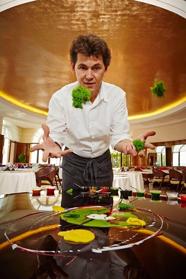 belmond hotel cipriani- the Oro Restaurant is featured in the prestigious Gambero Rosso guide