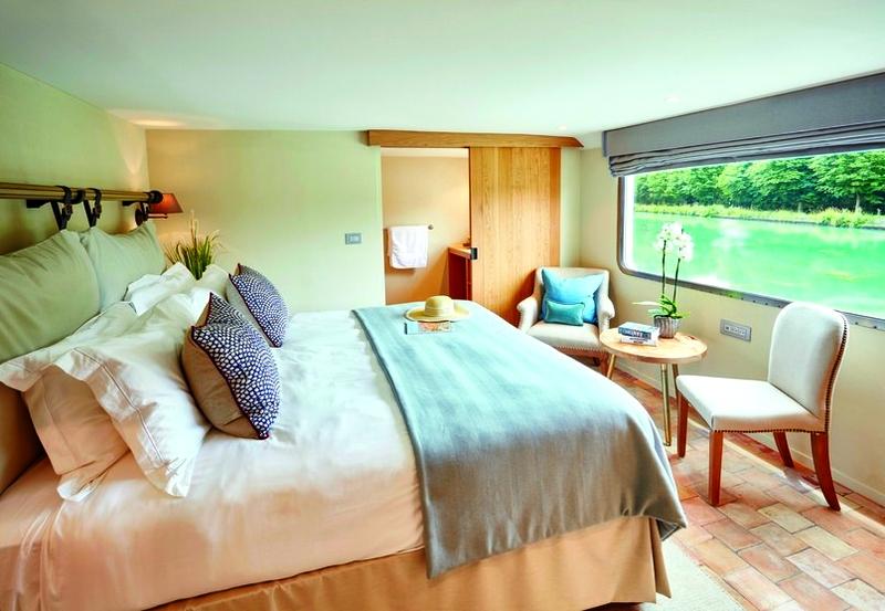 belmond pivoine luxury barge - 2018 - cabins - interiors