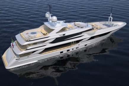 Benetti's winning strategy of building 50 meter plus yachts on-spec confirmed with FB802 Breeze made with Fraser