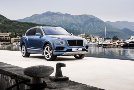 The first diesel Bentley is the world's fastest and most powerful luxury diesel SUV