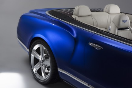 The Bentley Grand Convertible aims to represent the ultimate in sensuous roofless motoring
