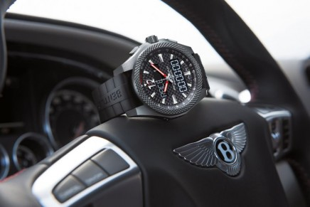 Bentley and Breitling introduce a connected chronograph