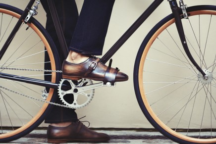 Feathers and leathers: fashion houses give cycling a luxury makeover