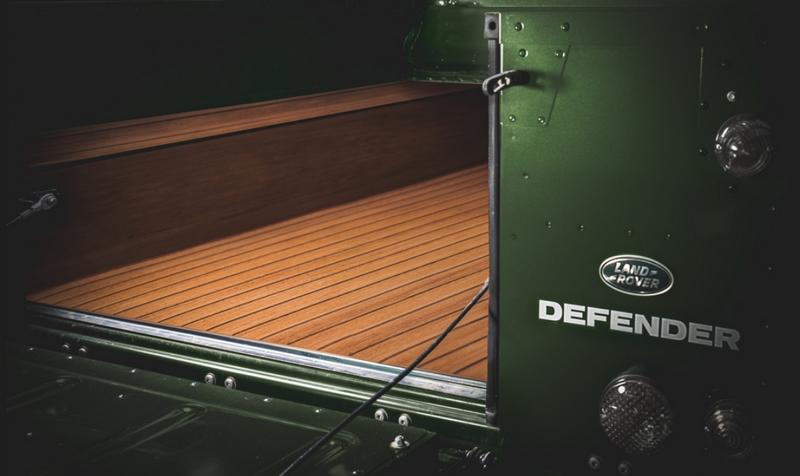 bespoke Selfridges Edition Land Rover Defender Works V8