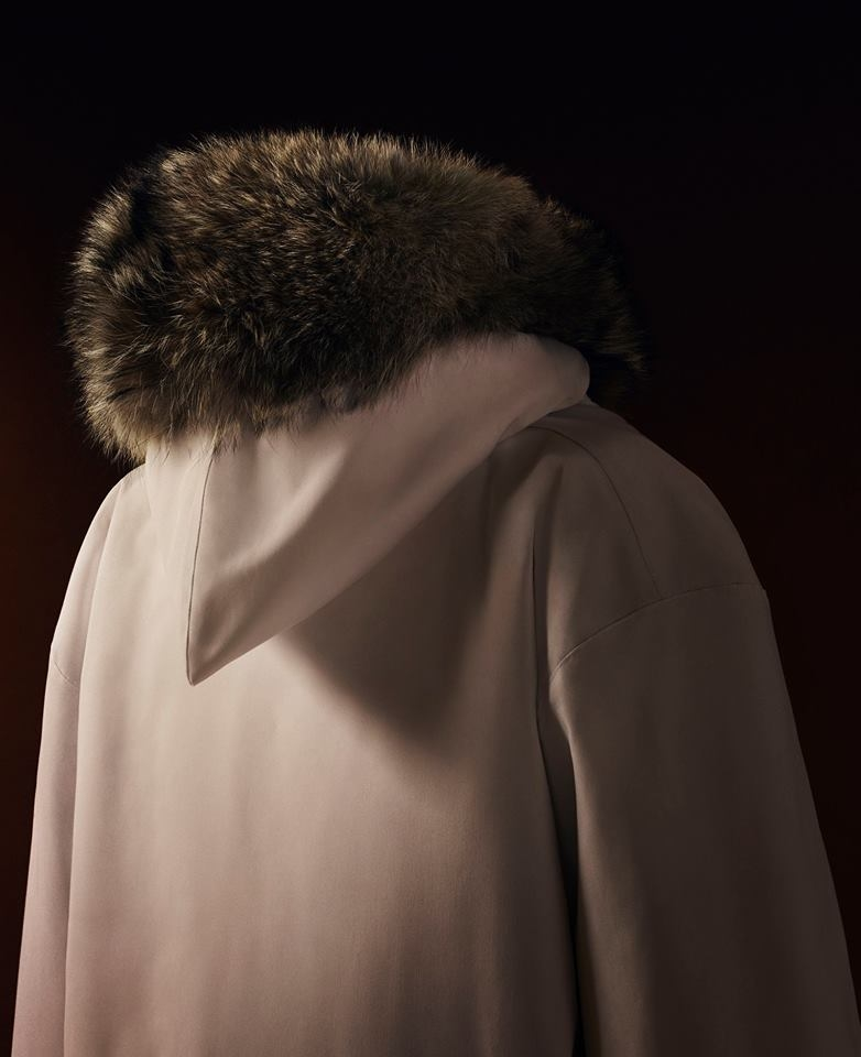bespoke parka details - Canada Goose launches Project Atigi, an exclusive parka collection created by Inuit 14 seamstresses.
