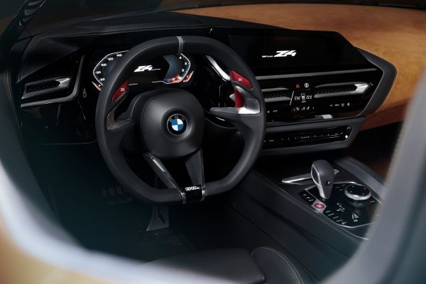 bmw-concept-z4-interior cockpit