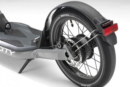 Zero-emissions mobility on two wheels: BMW Motorrad X2City