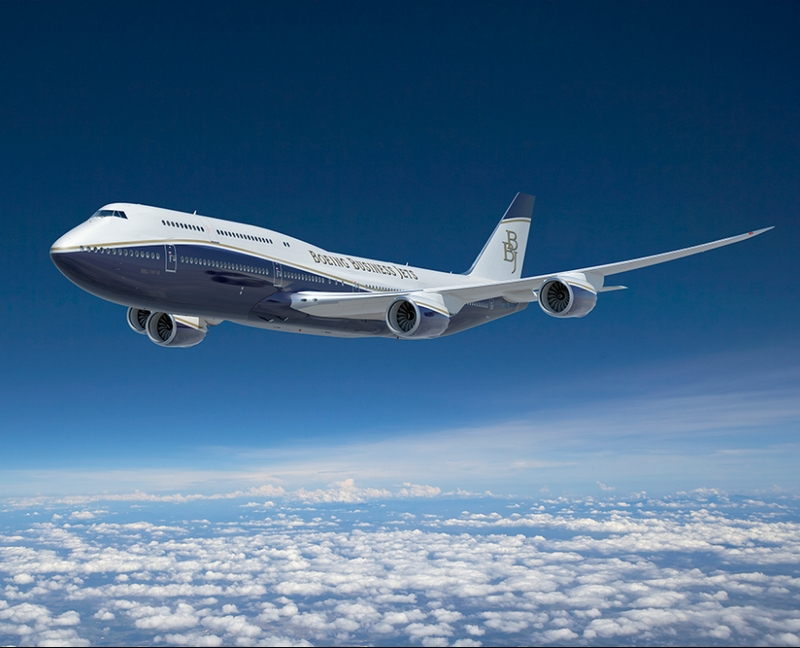 boeing business jet - air