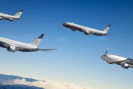 New Boeing BBJ 777X airplane can connect virtually any two cities in the world