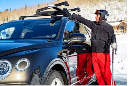 Bentley and Bomber Ski announce new ski and drive experience