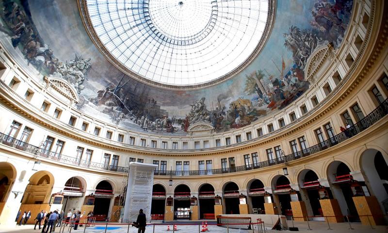 bourse de commerce france transforme into an art museum by fracois pinault