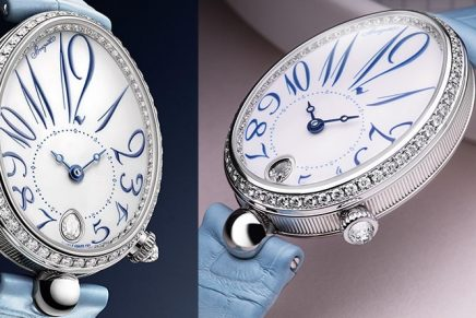 Celestial shades: Breguet re-imagines The Reine de Naples – The Watch of a Queen