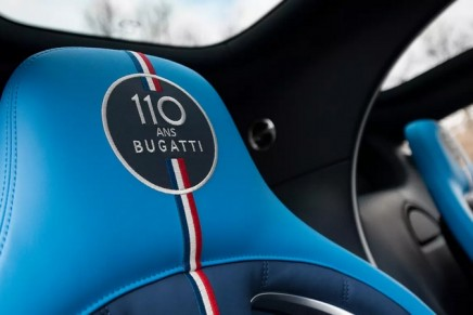 Bugatti Chiron Sport 110 ans Bugatti: not only extremely exclusive but also pays tribute to France
