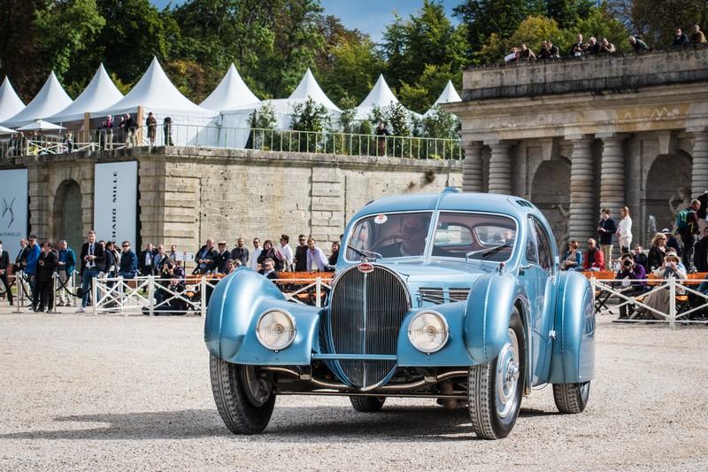 bugatti at chantillyartsetelegance 2017 photos