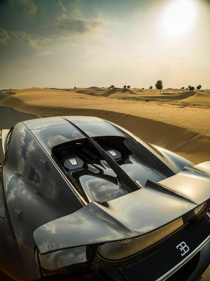 bugatti chiron desert explorations