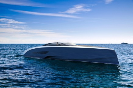Bugatti is moving into completely uncharted waters with Niniette luxury yacht project