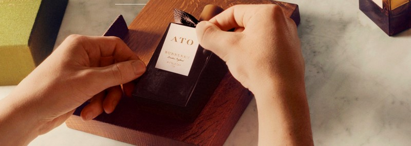 burberry bespoke fragrances - the experience