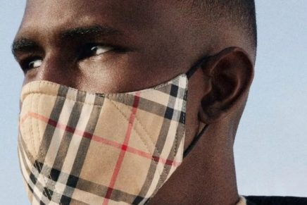 Burberry launches £90 coronavirus face mask