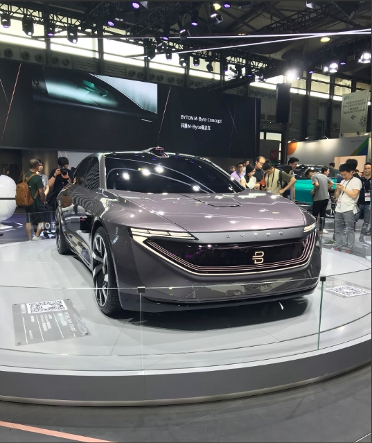 byton cars ces asia 2018 launch-