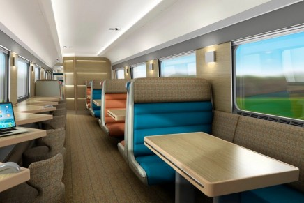Caledonian Sleeper gets double beds and a new look in £150m revamp