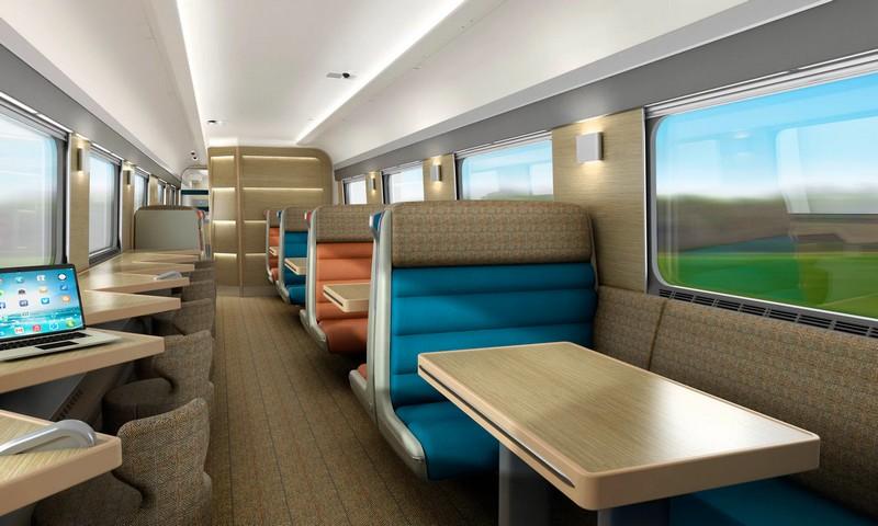 caledonian sleeper new en-suite cabins -design