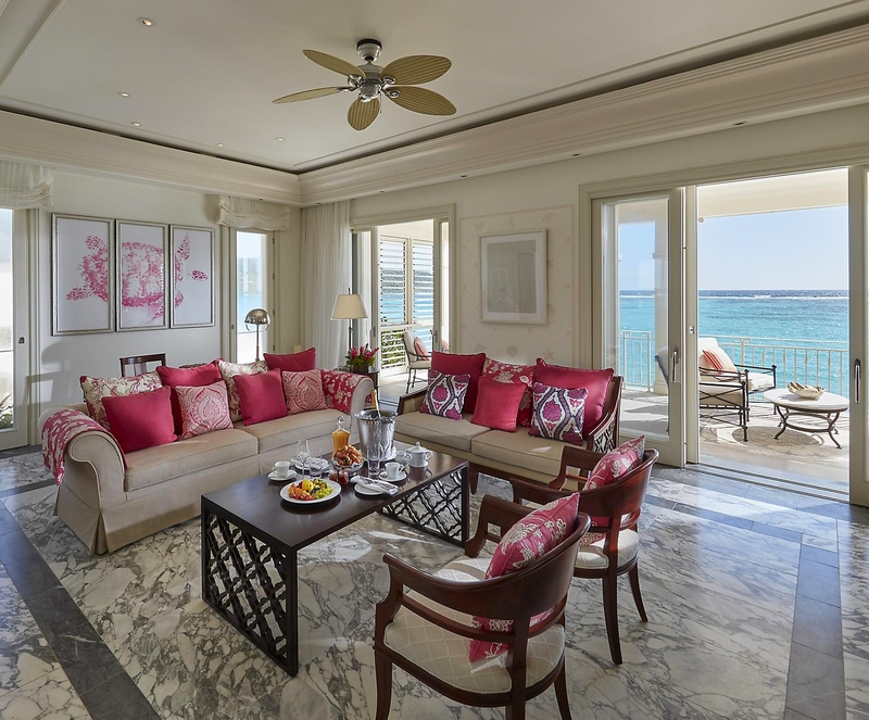 canouan-accommodation-one-bedroom-oceanview-penthouse-living-room
