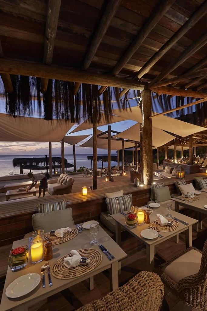 canouan lifestyle - fine dining