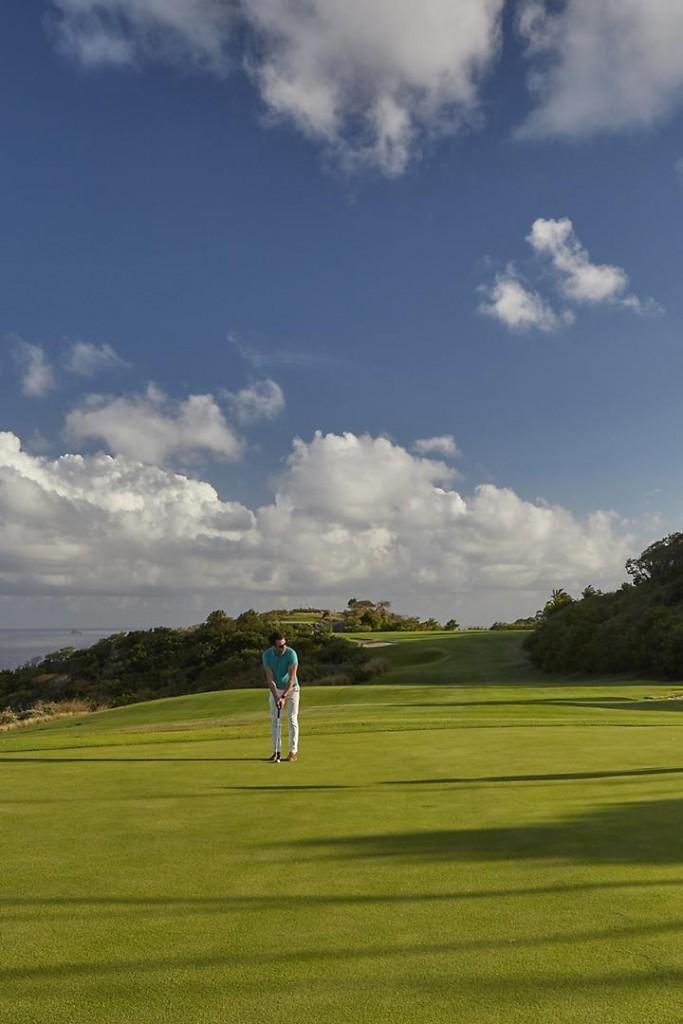 canouan lifestyle - golf