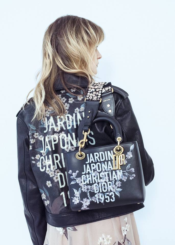 capsule collection inspired by Dior founder's 'Jardin Japonais' dress