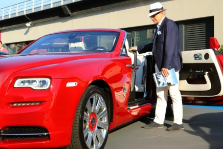The prestige car exhibition is back on track at Monaco Yacht Show 2017