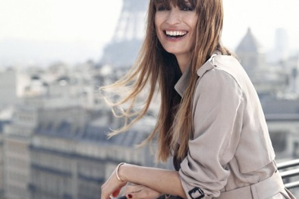 Model and music producer Caroline de Maigret added to Lancôme's exclusive club of spokesmodels