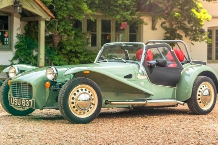 Caterham Seven Sprint review: 'The ultimate feelgood car'