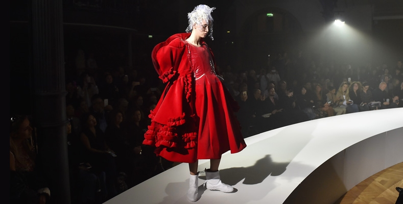 catwalking exhibition Fashion through the Lens of Chris Moore