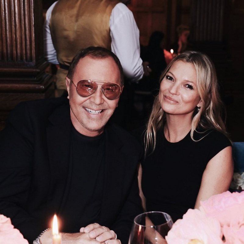 celebrating the new Michael Kors Collection Old Bond Street townhouse