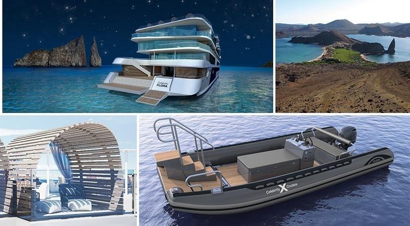 celebritiy cruises glamping on the luxury Flora