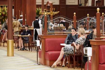 Chanel's Lagerfeld in love letter to France, written in Parisian cafe
