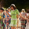 chanel Finale from the Cruise 2016 -  2017 show in Havana Cuba