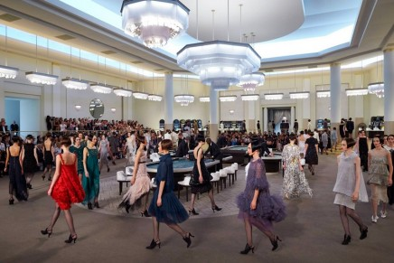 The house always wins: Chanel show takes a spin at grand casino glamour