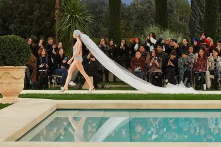 Karl Lagerfeld misses Chanel haute couture shows in Paris