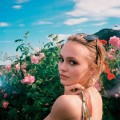 chanel rose2016-Lily-Rose Depp as the new face of N°5 L'EAU