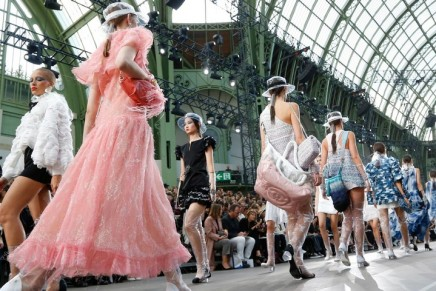 Lagerfeld retains Coco Chanel strengths in Paris fashion week spectacle